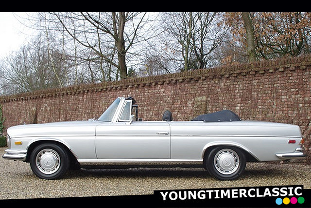 Mercedes-Benz 280 SE 3.5 V8 convertible
