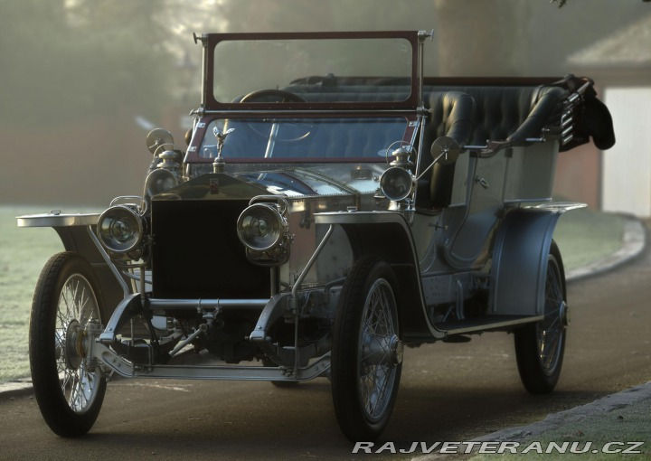 Rolls Royce Silver Ghost Rois Des Belges Chassis