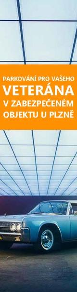Parkování veteránů Plzeň